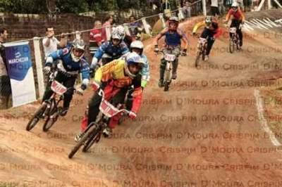 Lucas Santiago participa de etapa nacional de ciclismo BMX