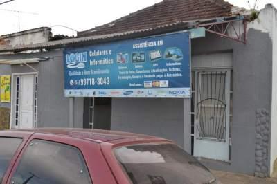 Bandidos roubam celulares e notebooks de loja no bairro Rincão Comprido