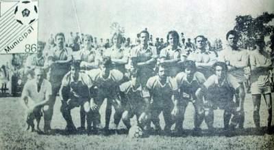 São Jorge, campeão municipal em 1986