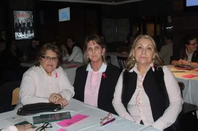 Amália Gewehr, Marlei Lisboa e Sandra Heinz
