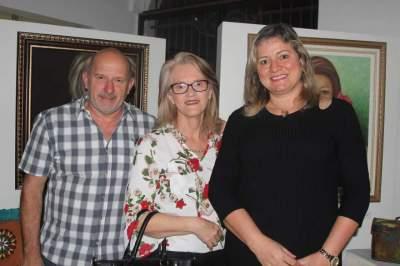 Sergio Diehl, Zeni Richter e Ester Spengler