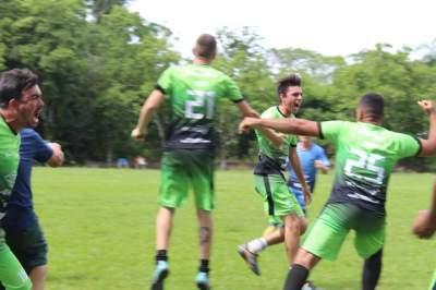 Equipes B: Unidos do Rincão 1 x 1 Moraes (2 a 1 nos pênaltis Unidos)