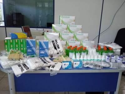 Grupo de comerciantes faz campanha e doa mercadorias para o novo centro de saúde