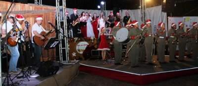 O Natal no ritmo da Orquestra e do Grupo de Rock de Candelária