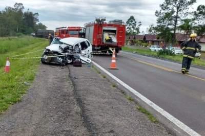 Mais informações do acidente com morte no Faxinal de Dentro