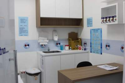 Nova sala para atendimento farmacêutico e clinico