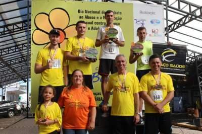 Premiação 35/39 anos masculino 4km