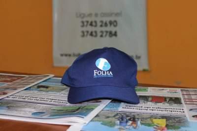 Você quer ganhar um boné personalizado da Folha?