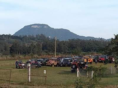 Evento contou com 174 jeeps em Candelária