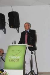 Veloir Fürst, procurador do Ministério Público do Trabalho Jubilado, padrinho da turma