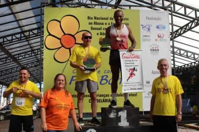 Premiação 50/54 anos masculino 4km