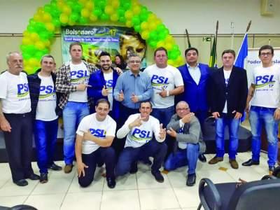 PSL de Candelária empossa primeira diretoria