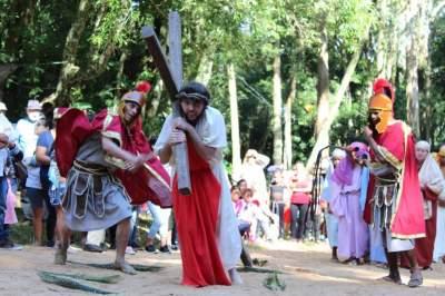 Encenação da Paixão e Morte de Cristo
