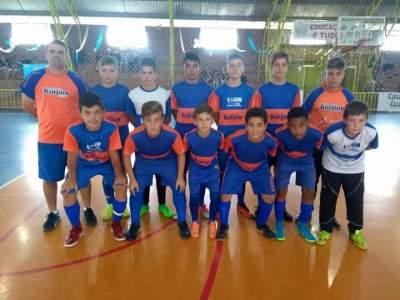 Sub - 13 - campeão