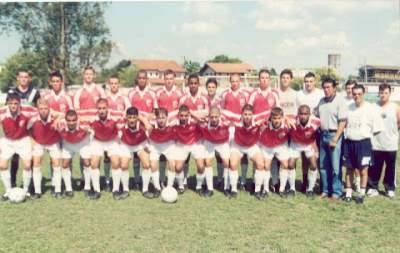 Juventude no período do centro de treinamento entre 98 e 2003