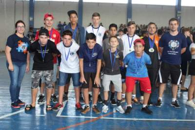 Educação realiza solenidade de premiação aos campeões da OESC