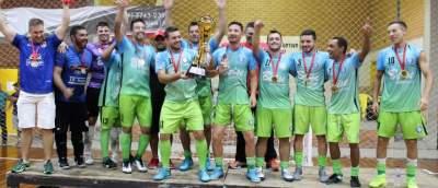 A festa da vitória do Inova Futsal
