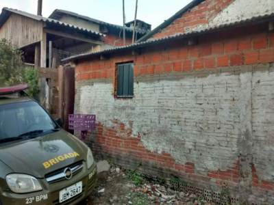 Mulher mantida em cárcere privado é resgatada pela Brigada Militar