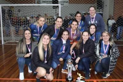 Marvados, vice-campeão feminino
