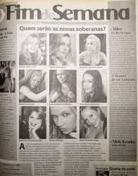 Na Folha, as candidatas de 2008