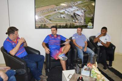 Representantes do Grêmio apresentaram formato do convenio para clube candelariense