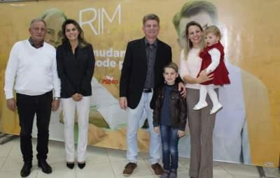 Eleição para prefeito: PSB e MDB oficializam as candidaturas de Rim e Cristiano
