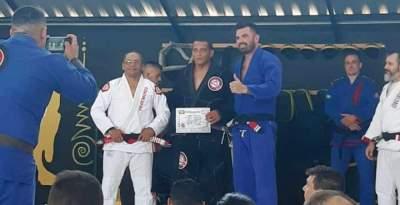 Jiu jitsu: equipe Brazuka de Candelária participa de Seminário de Graduação