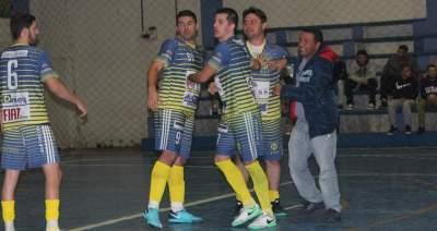 Atletas do Marvados comemoram a vaga na final após nova vitória sobre o Inova