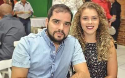 Marcelo Brum e Luana Auler