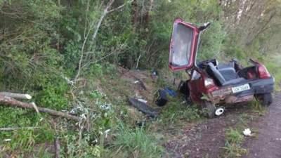 Acidente deixa homem morto e mulher ferida em Cerro Branco