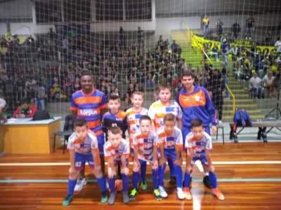 Equipe da Korpus Sub 09: vice-campeã da Copa dos Vales