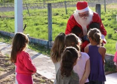 A despedida do Papai Noel Arlindo