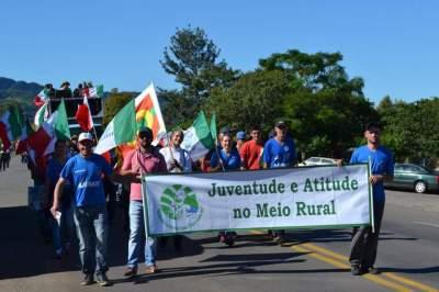 Juventude rural também esteve representada no protesto
