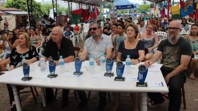 A comissão julgadora do festival