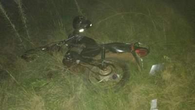 Acidente resulta em morte de motociclista na noite de domingo