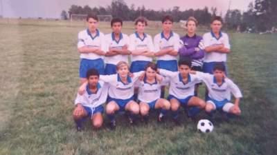 Amistoso do Atlético no Pinheiro - Arquivo Rodolfo Feldmann