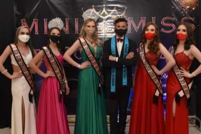 Mini Miss Universe Região dos Vales realizou sua seletiva neste final de semana