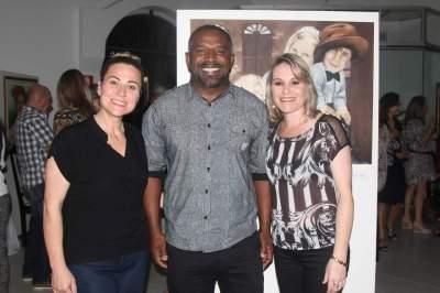 Gicele Porto, Lauro Gomes e Fabiana Faber