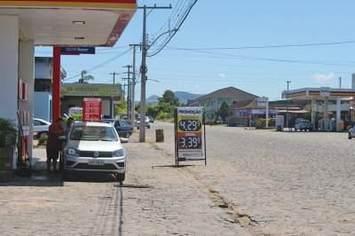 Em Candelária, preços tiveram uma redução de até 10 centavos na gasolina comum em alguns estabelecimentos