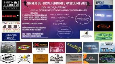 Inscrições abertas para torneio de futsal no ginásio do Parque