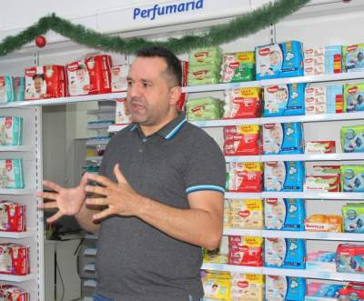 Tiago Machado destaca que filial apresenta serviços diferenciados aos candelarienses