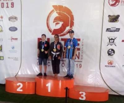 Candelarienses conquistam medalhas em competição  de Jiu-Jitsu