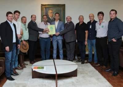 FETAG realiza visita institucional na Assembleia Legislativa