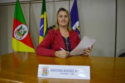 Vereadora Cristina Rohde indica inclusão de ciclofaixas