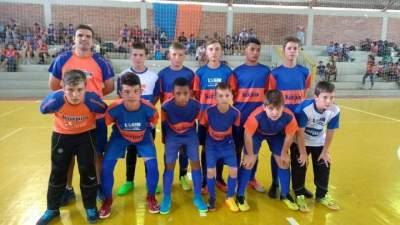 Korpus é campeã na categoria sub 13 da Nossa Liga de Futsal