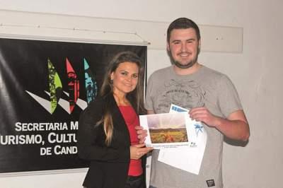 3º Lugar_Andrei Kieling com a primeira dama Gabriela