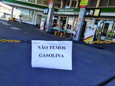 Postos ainda estão sem combustível em Candelária