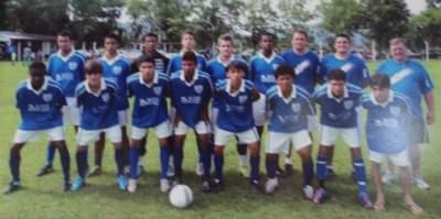 Categoria Juvenil do Atlético - campeão regional em 2010 - Arquivo Douglas Braga