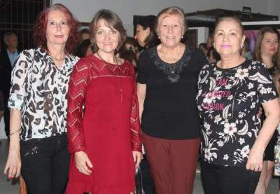 Mara Hegele, marilei reinheimer, Lucila Skolaude e Sandra Heinze
