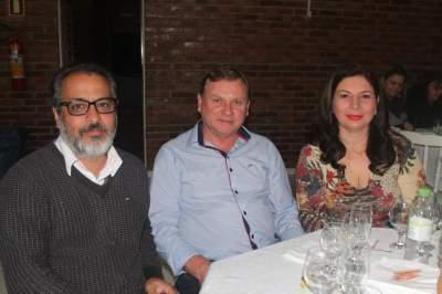 João Matias Corrêa, Nene e Andrea Beskow
